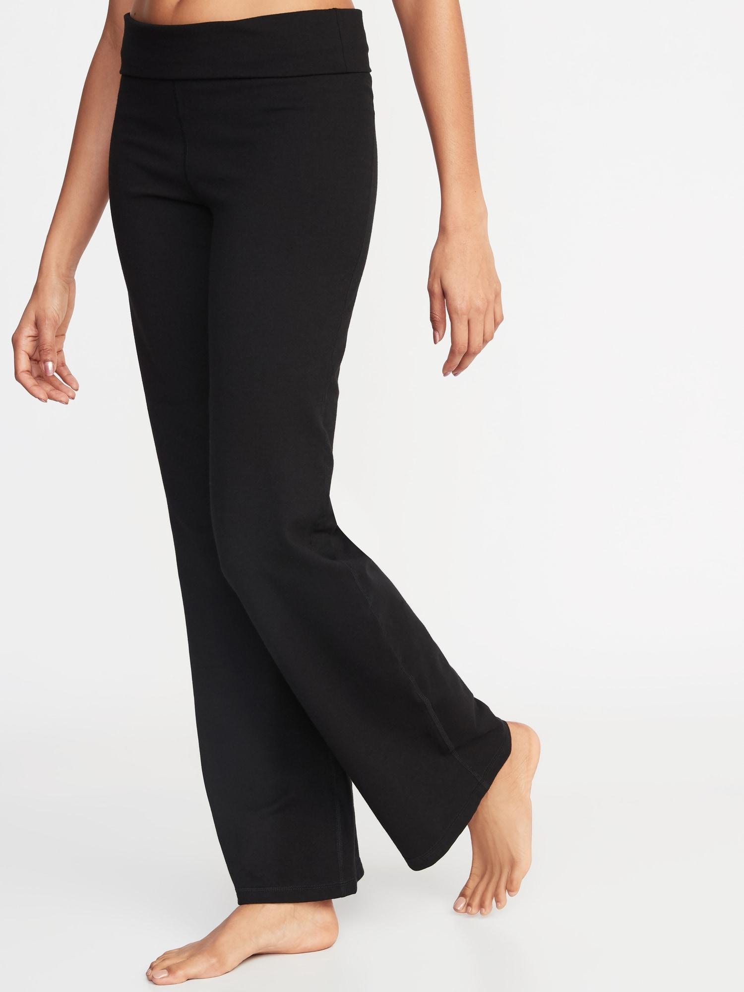 79fe57d7c261c Mid-Rise Wide-Leg Yoga Pants for Women   Old Navy