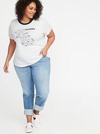 e8c50b172 Everywear Plus-Size Graphic Slub-Knit Tee | Old Navy