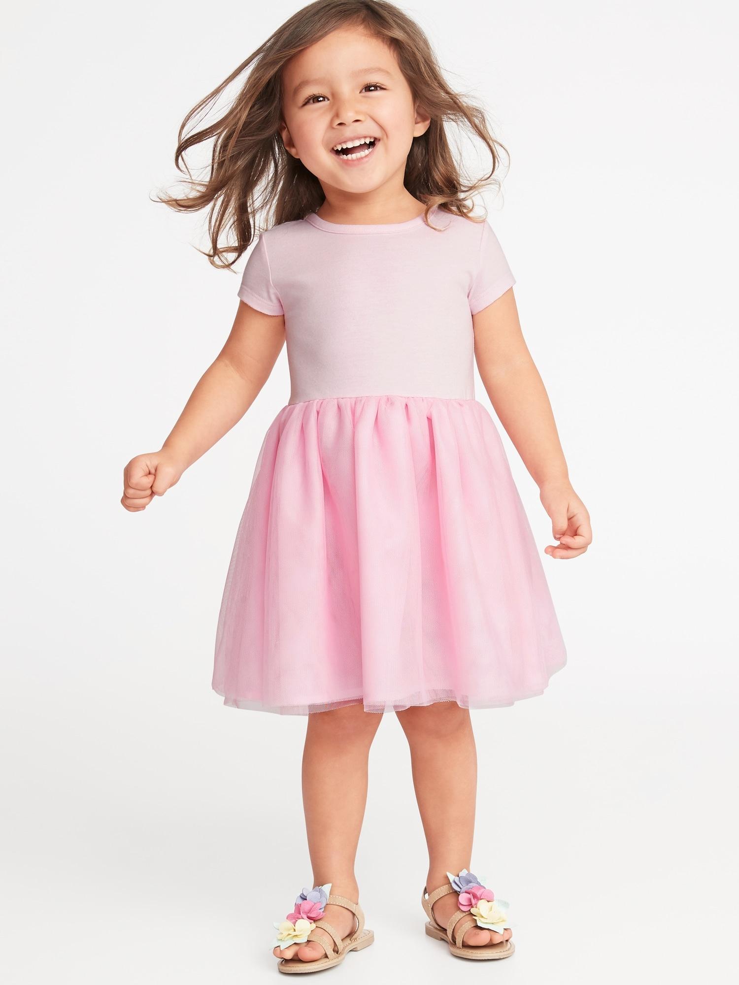 d425aaf416 Fit   Flare Tutu Dress for Toddler Girls