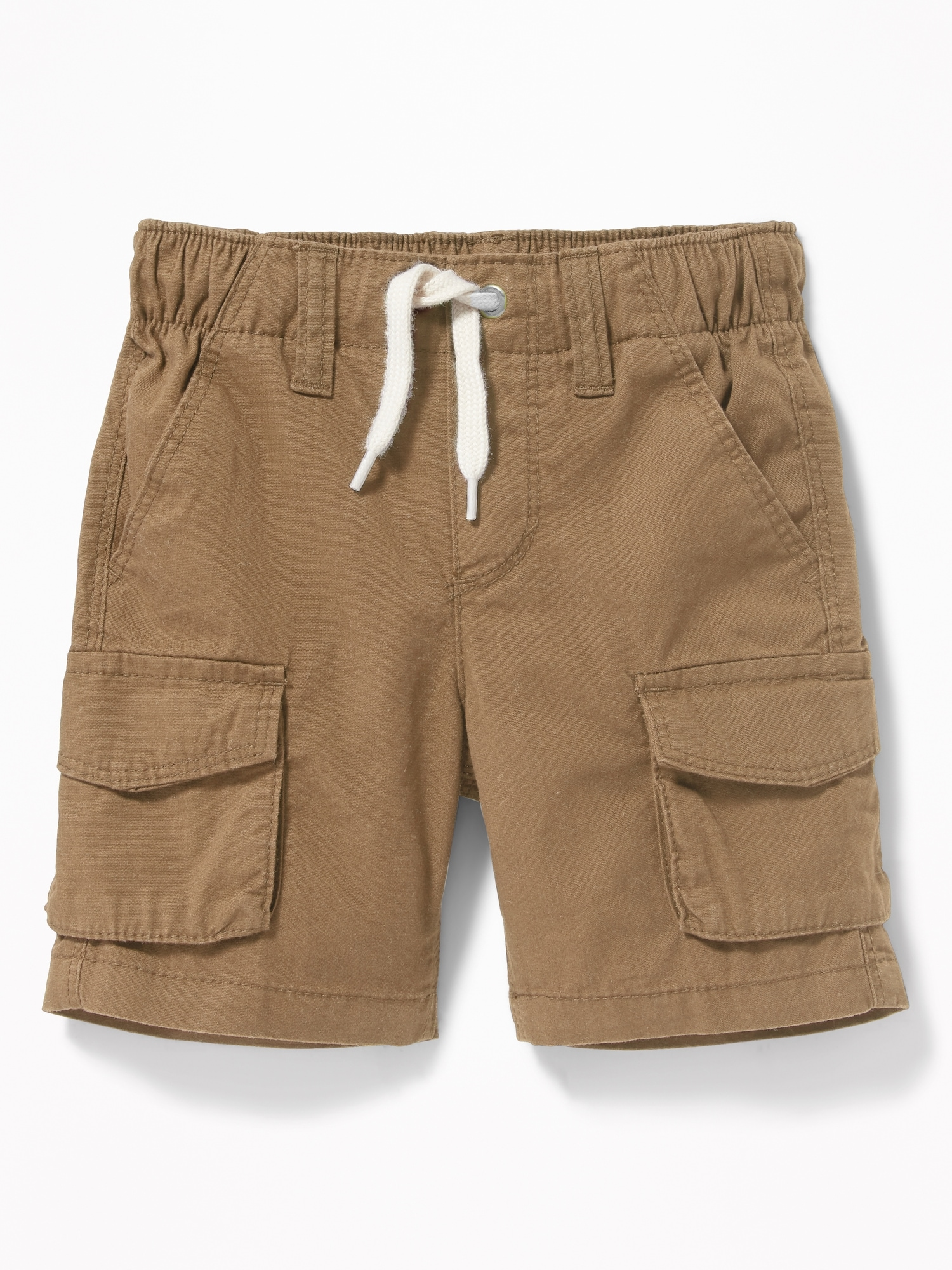 6bdee6c93ee Functional Drawstring Pull-On Cargo Shorts for Toddler Boys