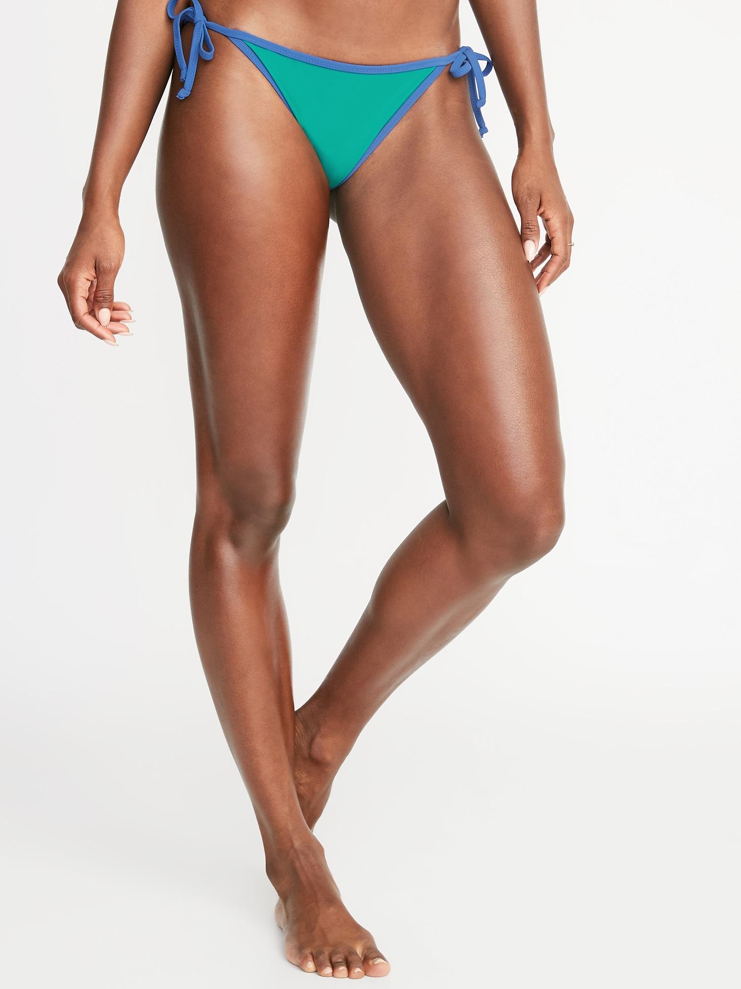 2f3a1c13e9c String-Bikini Swim Bottoms for Women