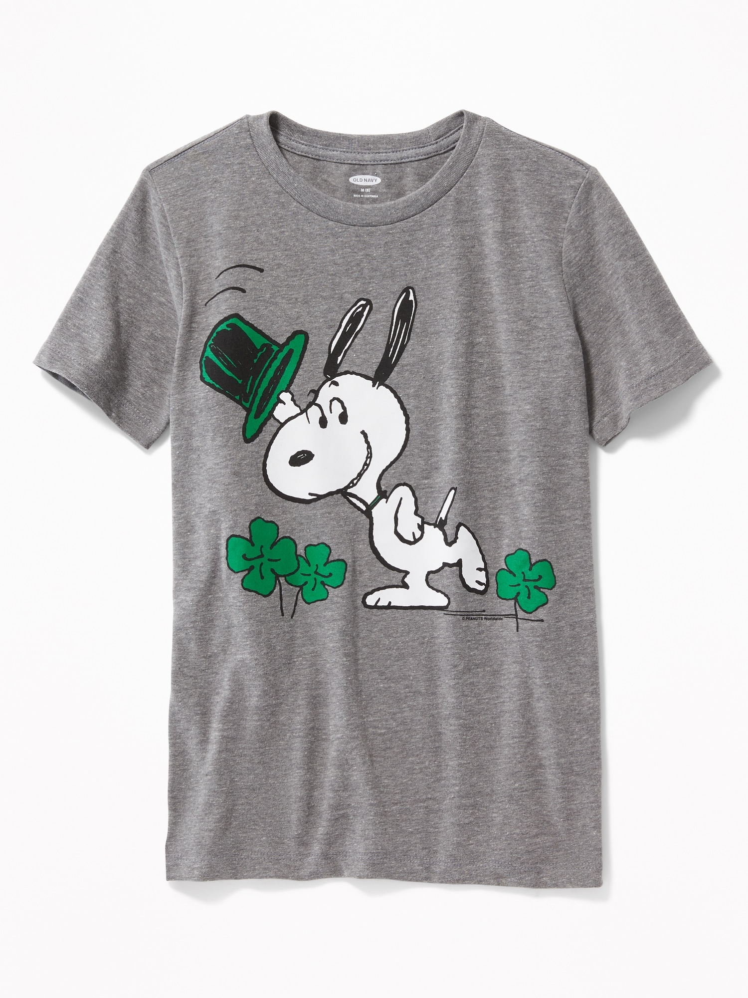 c01037dd1 Peanuts® Snoopy St. Patrick's Day Tee for Boys | Old Navy