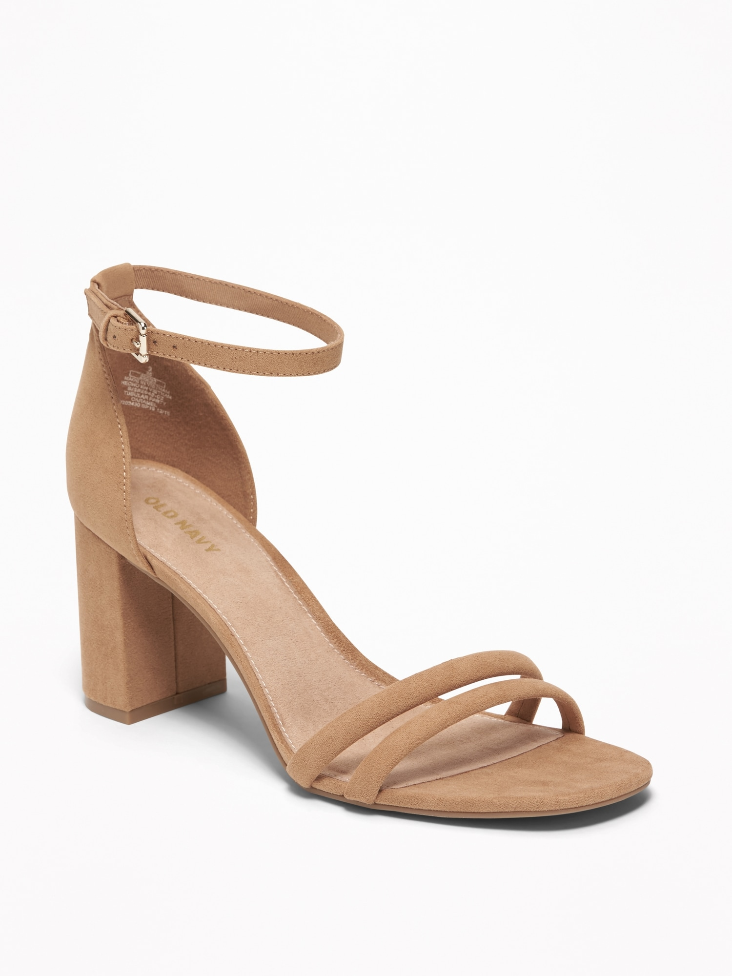 27bc9f3782f Strappy Block-Heel Sandals for Women