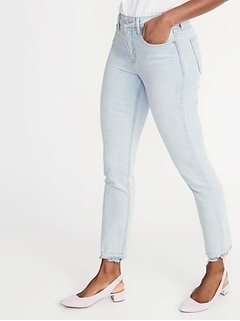 f0ded40ed3 High-Rise Secret-Slim Pockets Power Straight Ankle Jeans for Women. product  recommendations