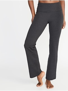High-Waisted Slim Boot-Cut Yoga Pants For Women