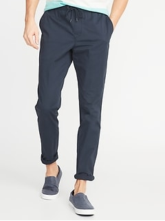 Relaxed Slim Pull On Anytime Chinos for Men