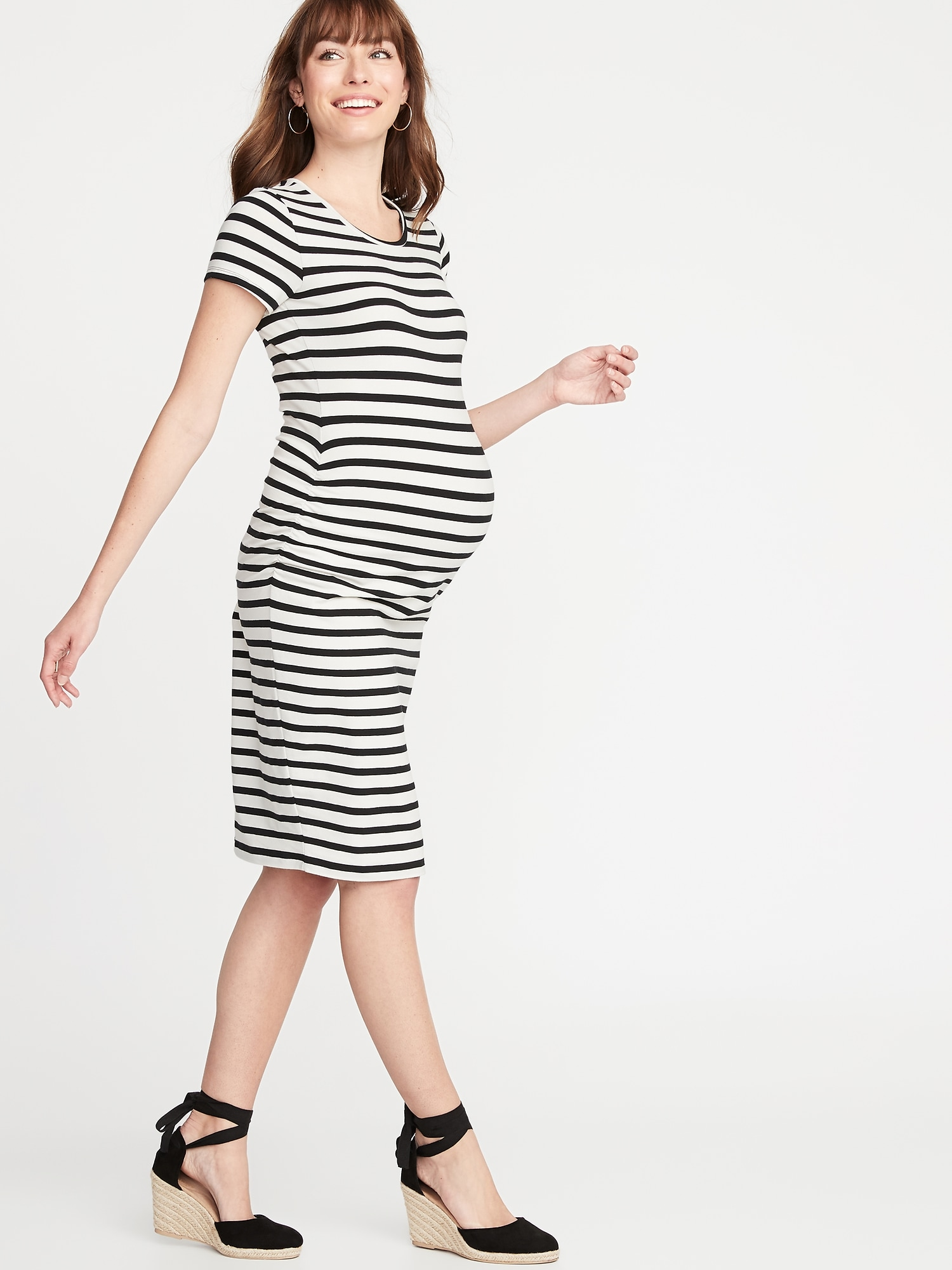 b1f930678a2c Maternity Jersey Bodycon Dress | Old Navy