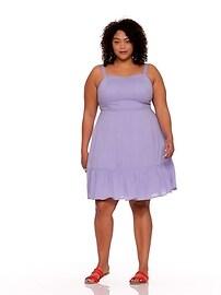 027ddcf30de Plus-Size Fit   Flare Tiered Cami Dress