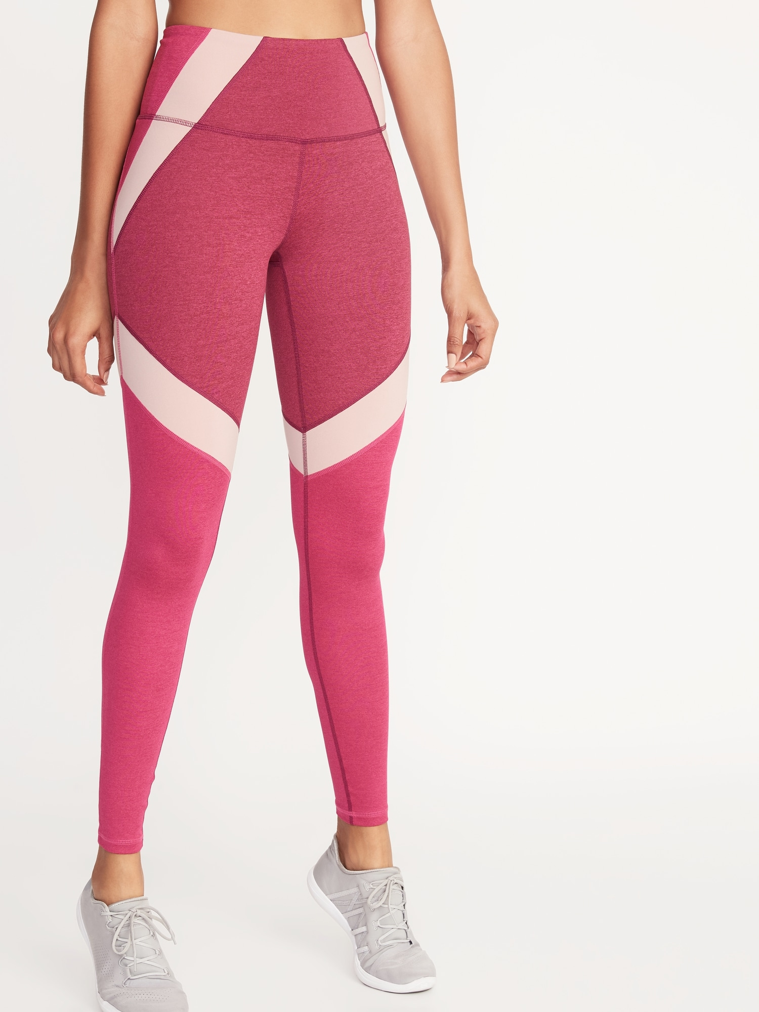 1c9cdf2c2120 High-Rise Elevate Color-Block Compression Leggings for Women | Old Navy