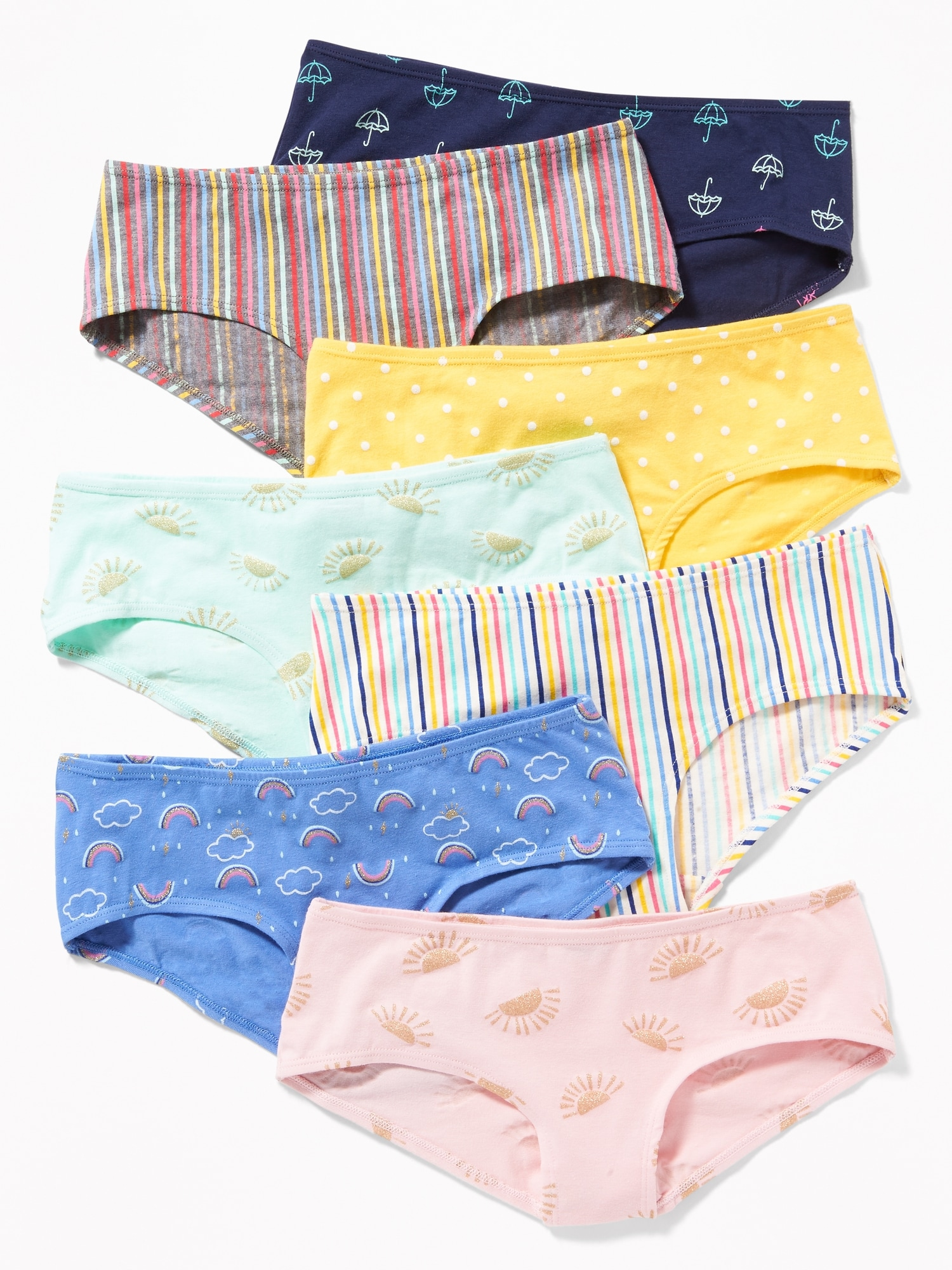 8be134f8c8d Hipster Underwear 7-Pack for Girls