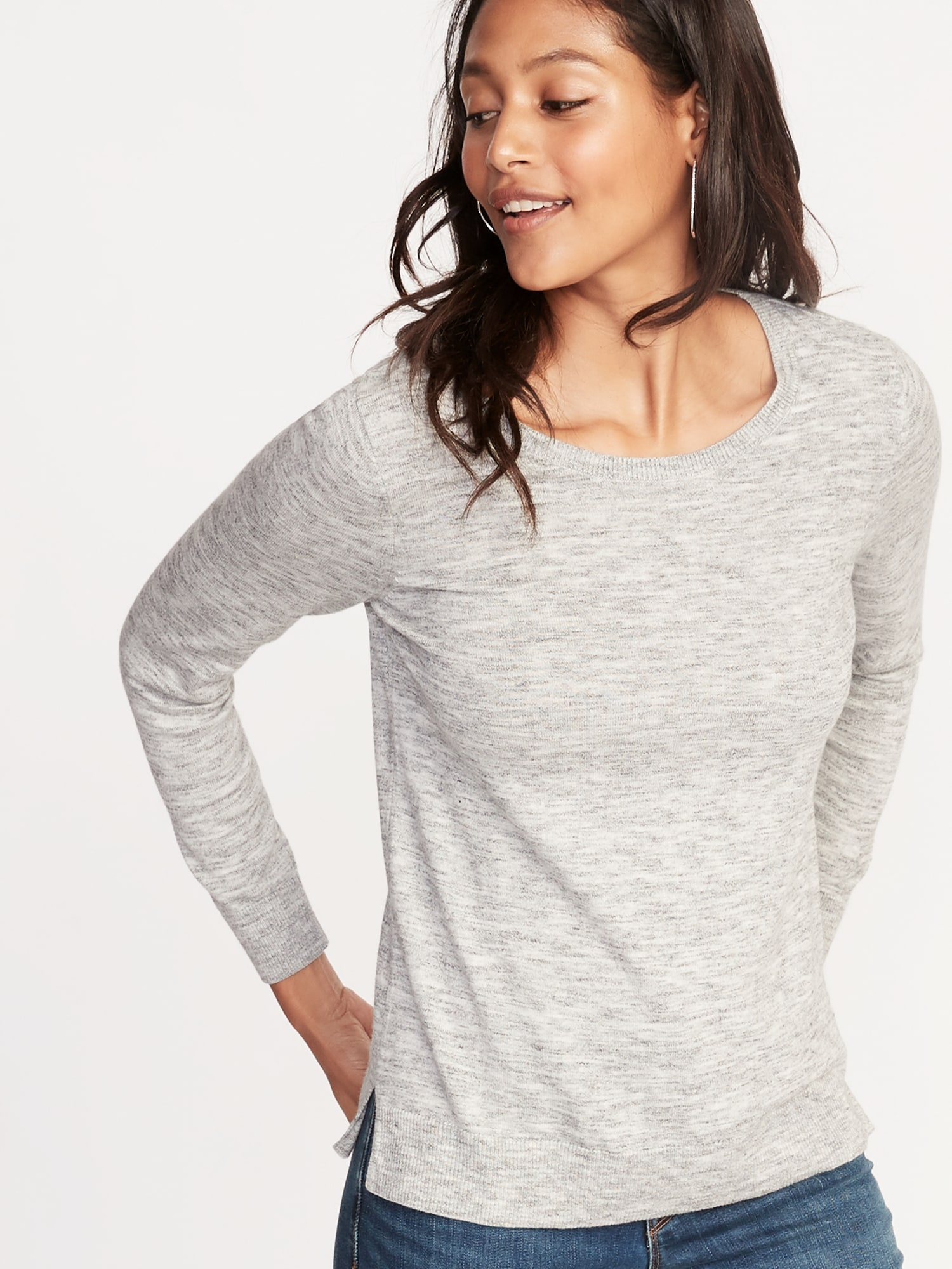 b01911f52737 Crew-Neck Sweater for Women