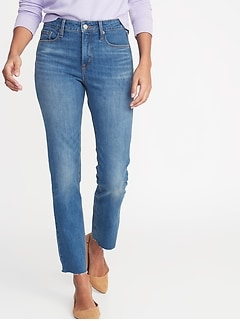 69bdab7040 High-Rise Secret-Slim Pockets Distressed Rockstar Ankle Jeans for Women.  product recommendations
