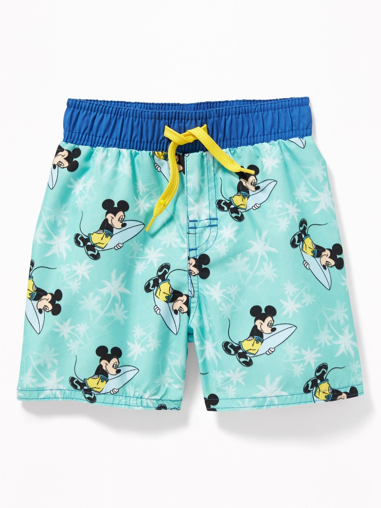 f0d13b27d9f61 Disney© Mickey Mouse Swim Trunks for Toddler Boys | Old Navy