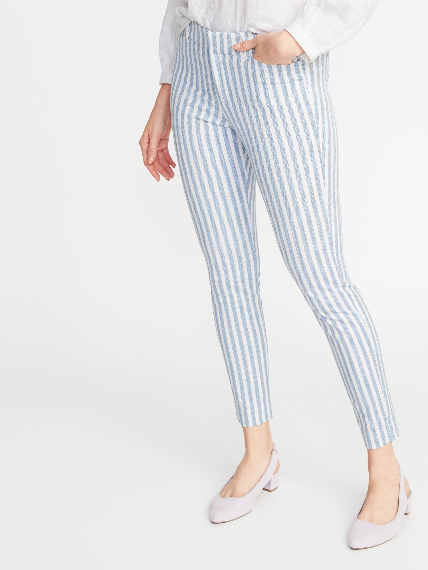 b4564f31d Mid-Rise Printed Pixie Ankle Pants for Women | Old Navy