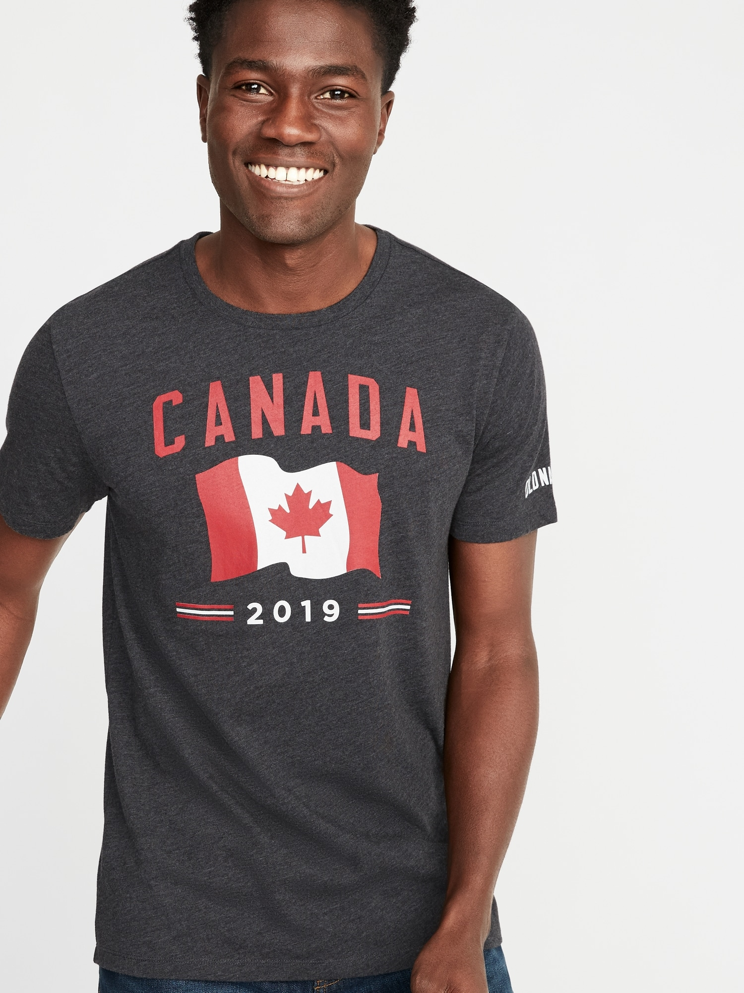 5ec9d8ef Canada-Graphic 2019 Flag Tee for Men | Old Navy