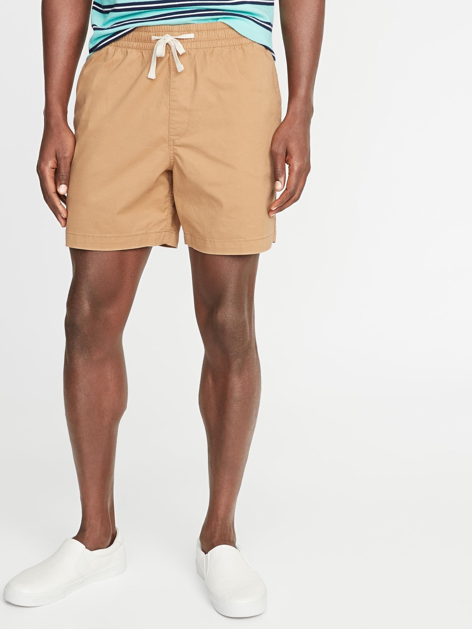 54e404eddc Built-In Flex Twill Jogger Shorts for Men - 7-inch inseam | Old Navy