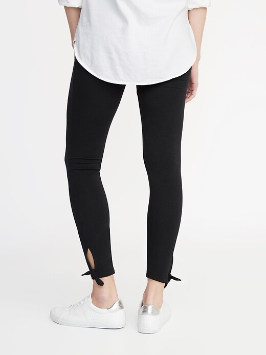 Tie-Ankle Leggings for Women