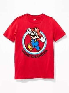 T-shirt «Game Changer» de Super MarioMC pour garçon