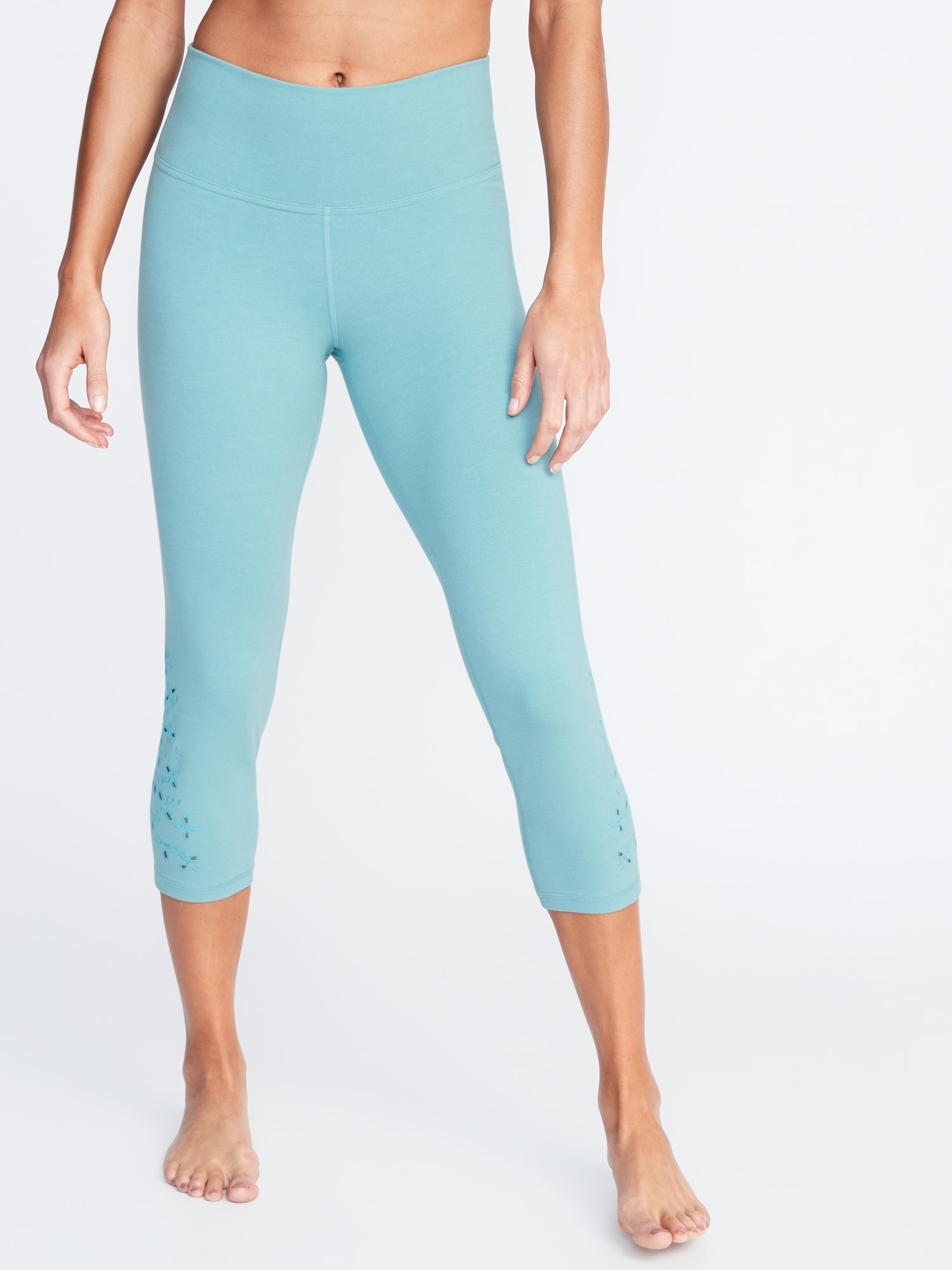 9d697ff993 High-Rise Balance Yoga Crops for Women | Old Navy