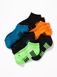Chaussettes Go-Dry à la cheville pour garçon (paquet de6)