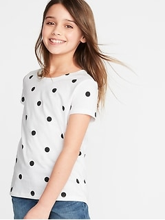 Softest Printed Tee for Girls