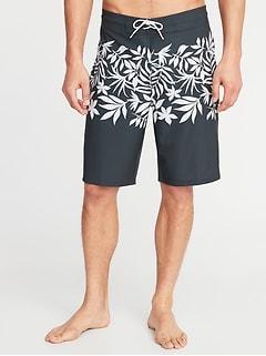 Built-In Flex Board Shorts for Men - 10-inch inseam