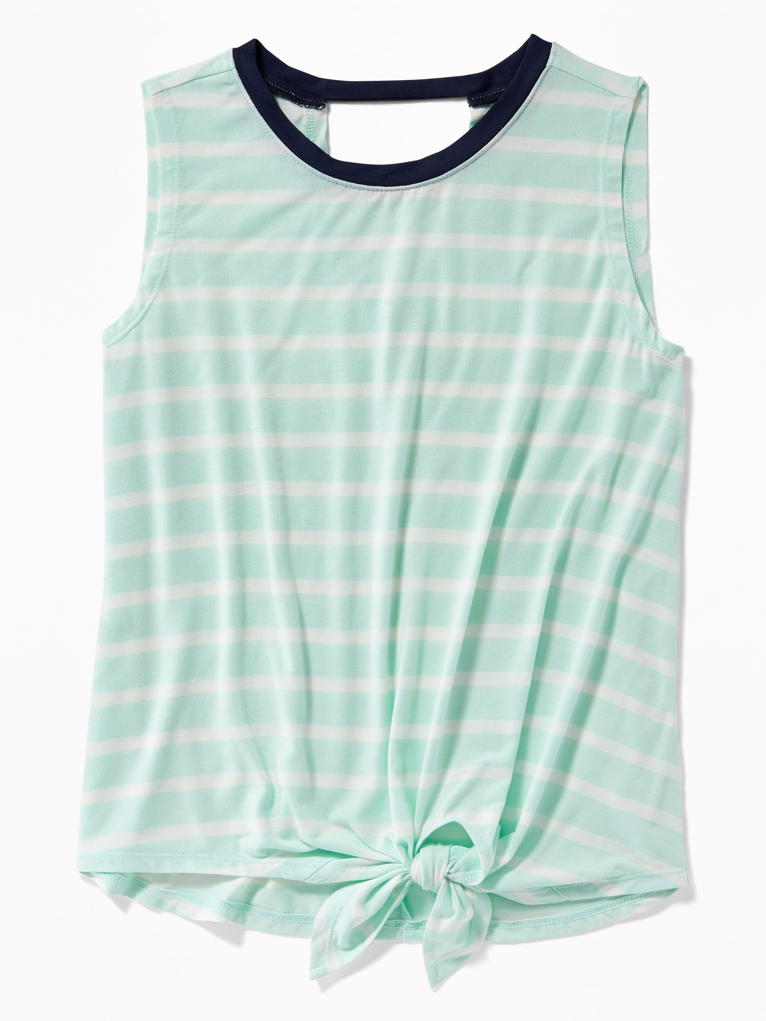 dbde6bc45eda6 Sleeveless Tie-Front Top for Girls | Old Navy