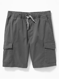 Straight Built-In Flex Cargo Jogger Shorts for Boys