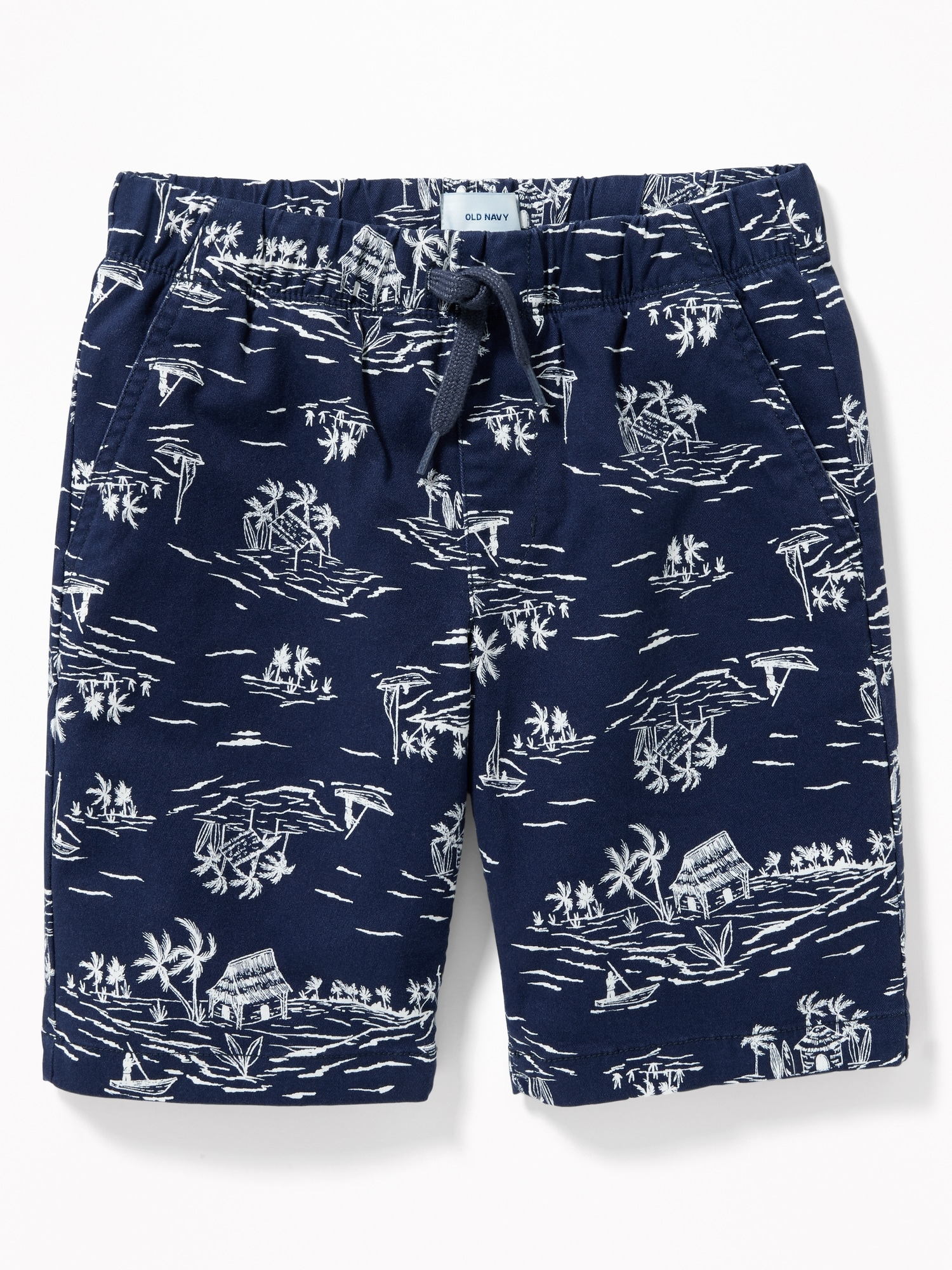 1b2e77fb8d94 Straight Built-In Flex Twill Jogger Shorts for Boys | Old Navy