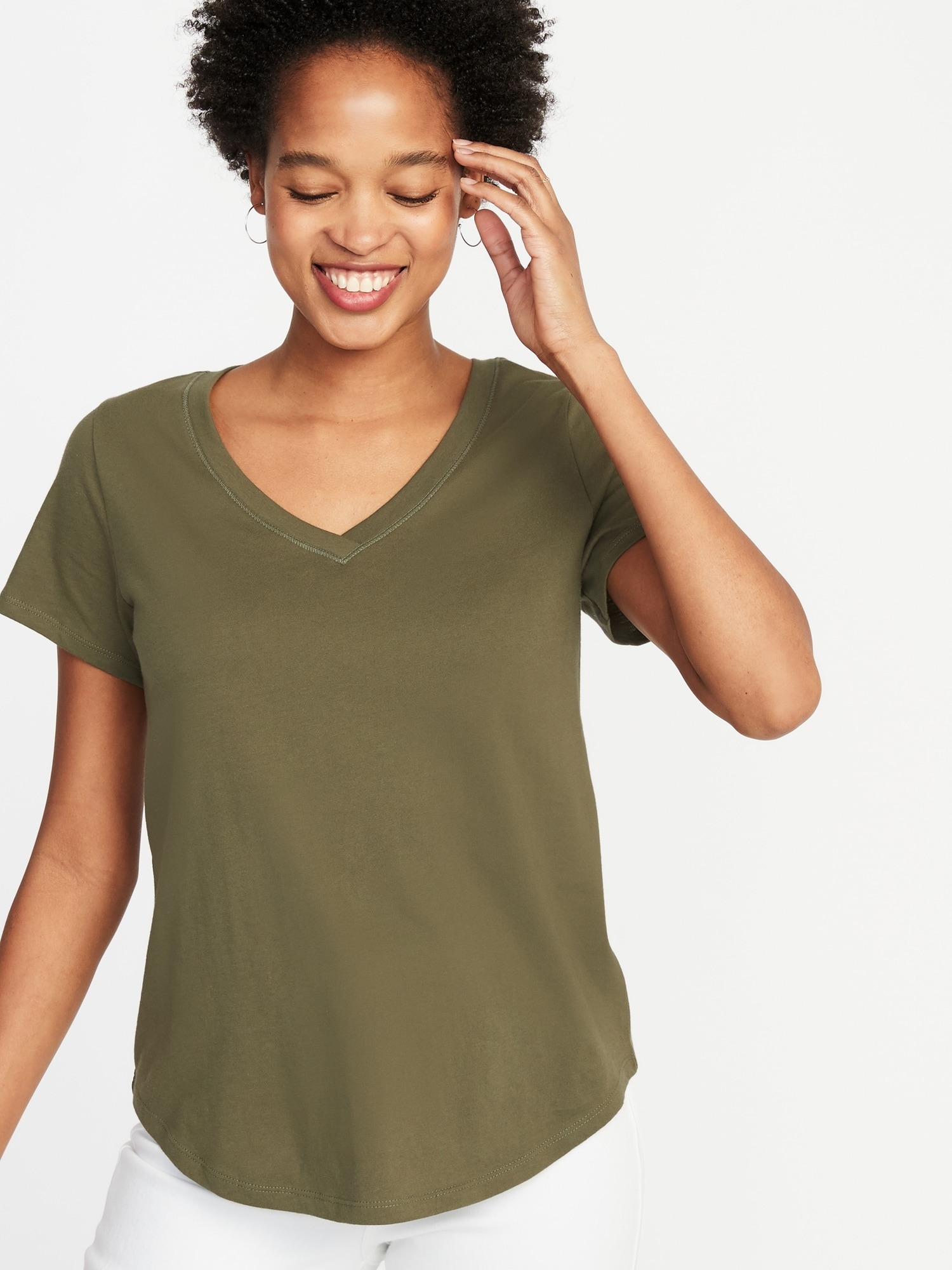 3a6680655 EveryWear V-Neck Tee for Women | Old Navy