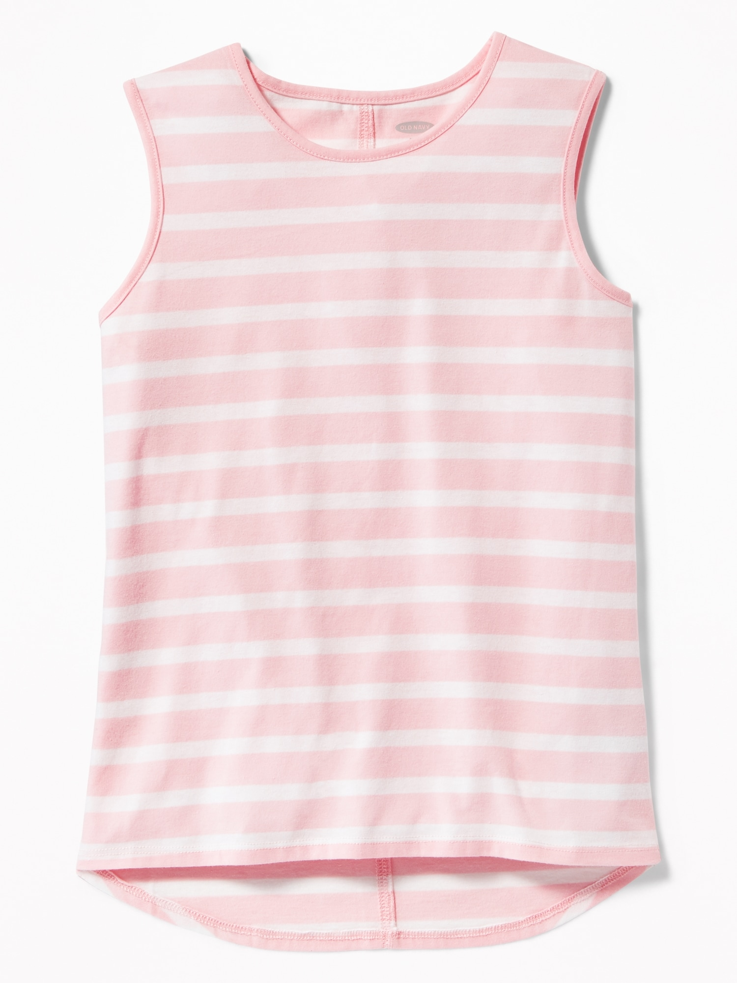 417a2f1d Striped Hi-Lo Hem Muscle Tank for Girls | Old Navy