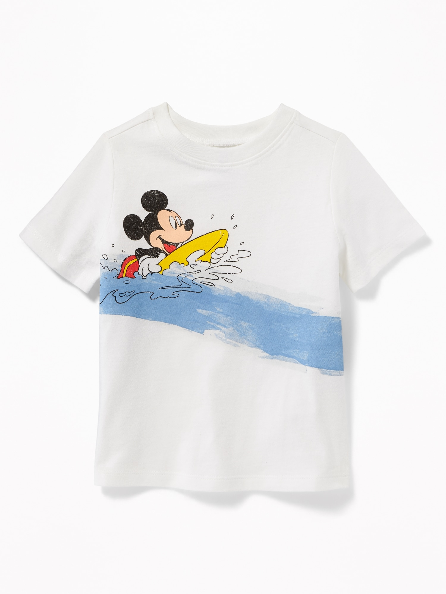 91e4facc Disney© Mickey Mouse Surf Graphic Tee for Toddler Boys | Old Navy