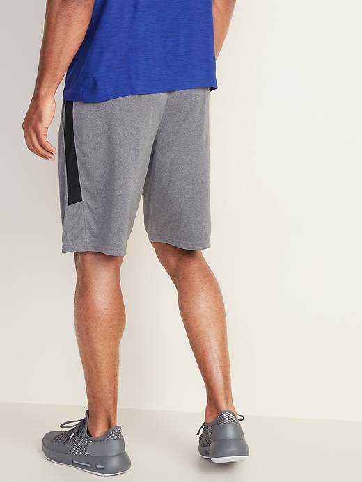 Go-Dry Side-Stripe Shorts for Men - 9-inch inseam