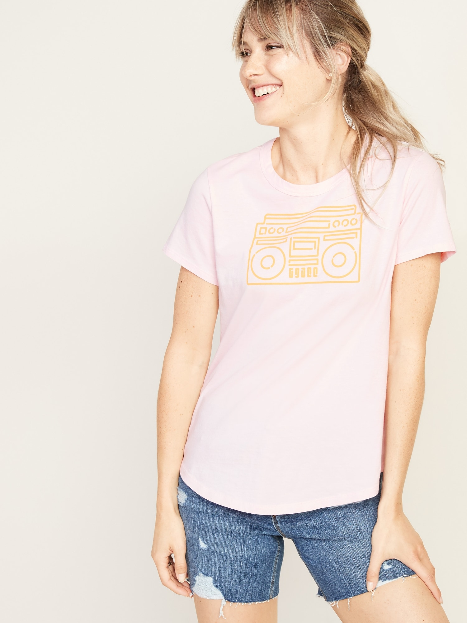 db114f881 EveryWear Mini-Me Graphic Tee for Women | Old Navy