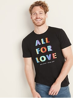 2019 Pride Graphic Tee For Men