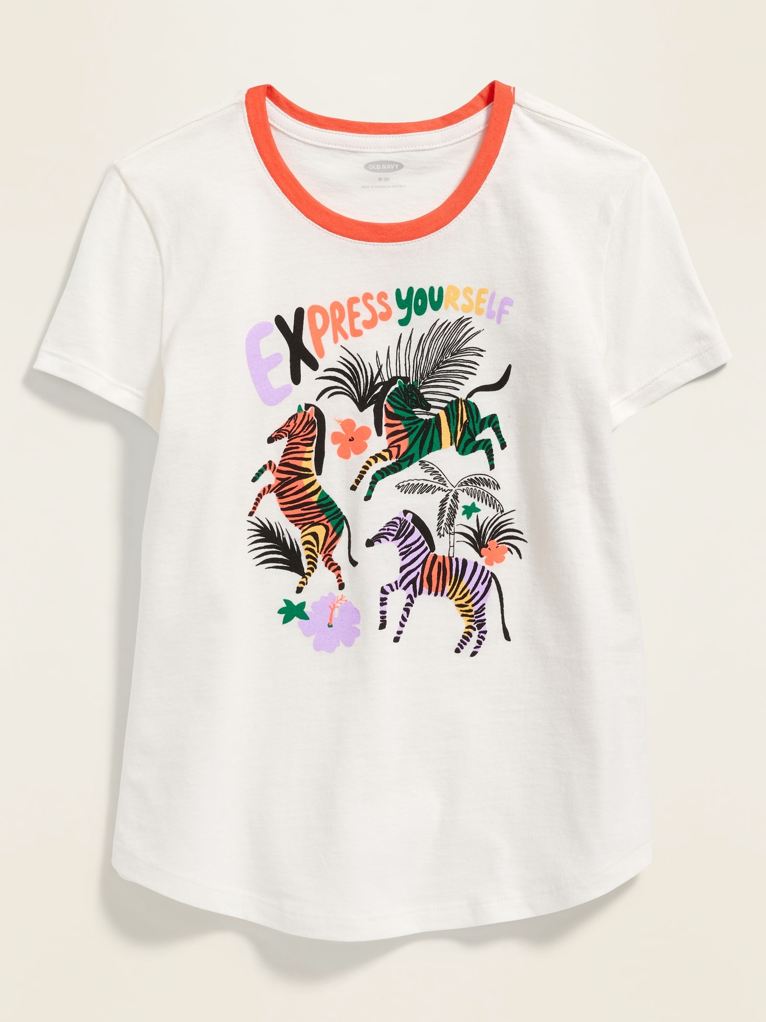 a670ef53c Graphic Crew-Neck Tee for Girls | Old Navy