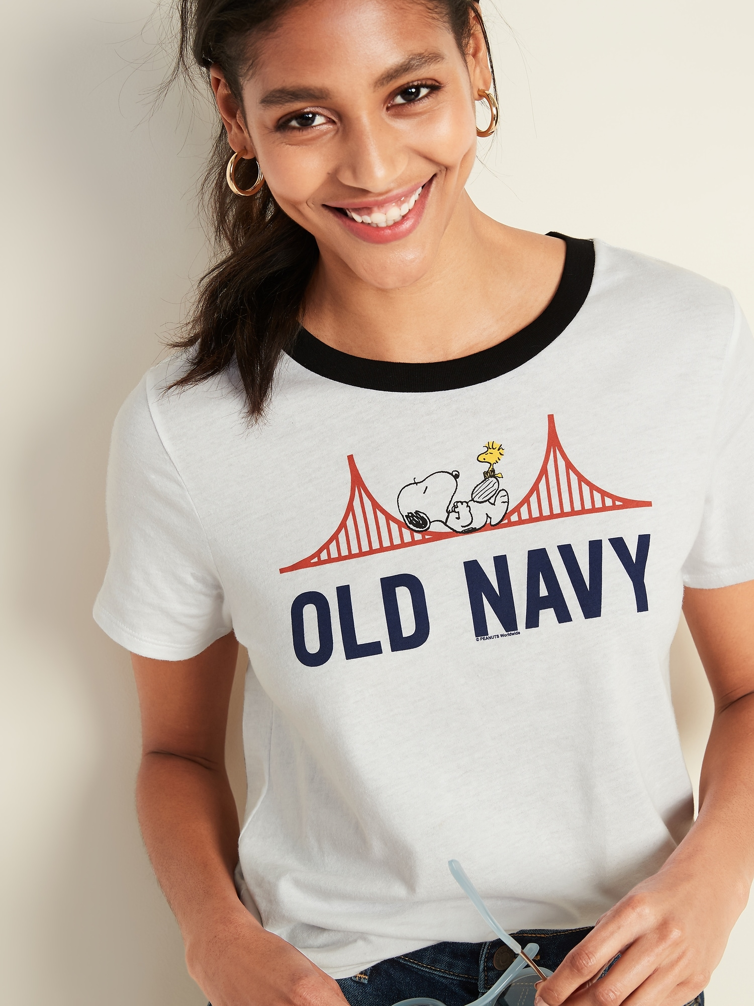 0f1a14718 Peanuts® Snoopy-Graphic Tee for Women | Old Navy