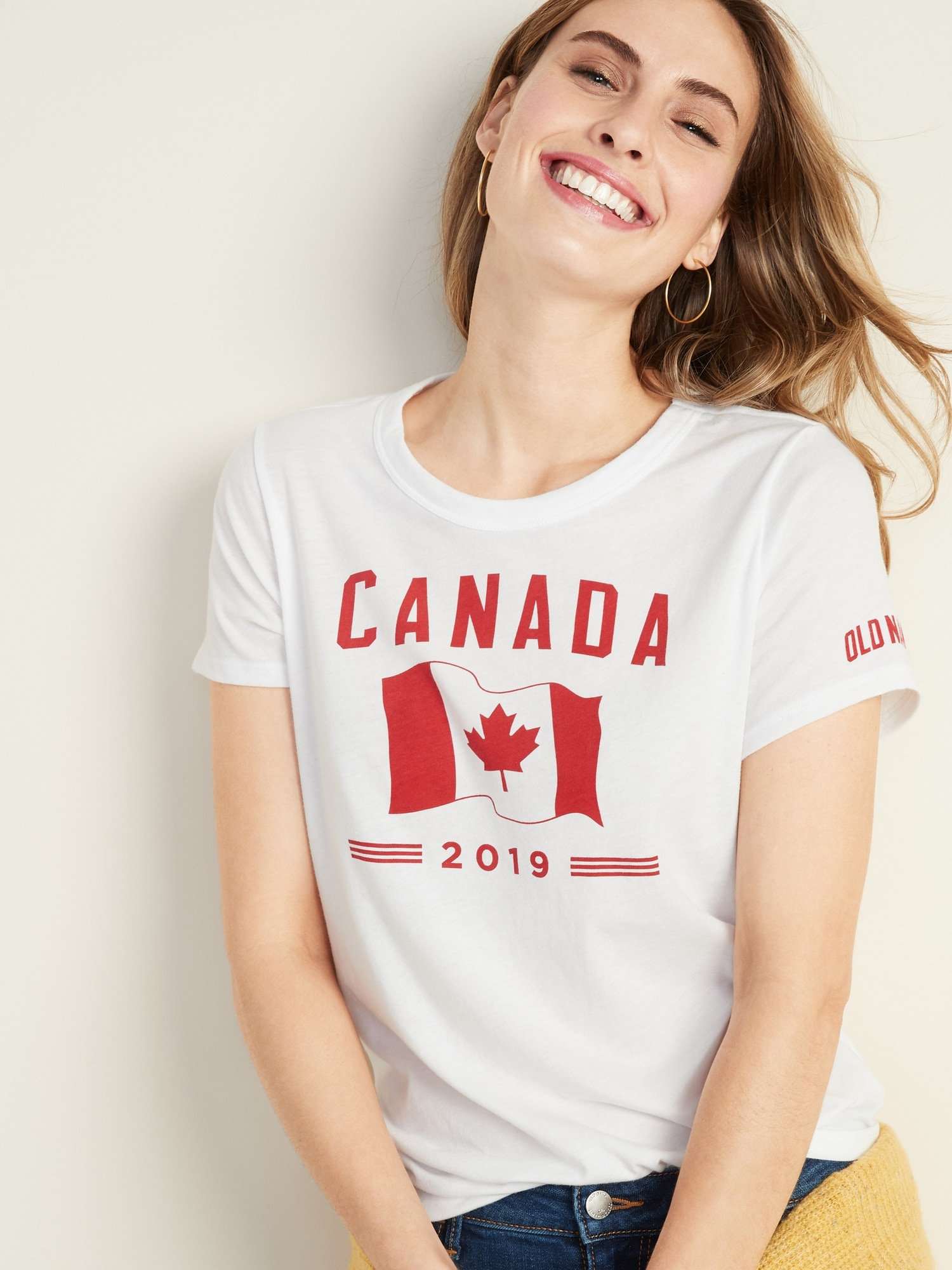 6c11074c 2019 Flag Graphic EveryWear Tee for Women | Old Navy