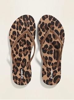 Sandales de plage à motifs pour femme