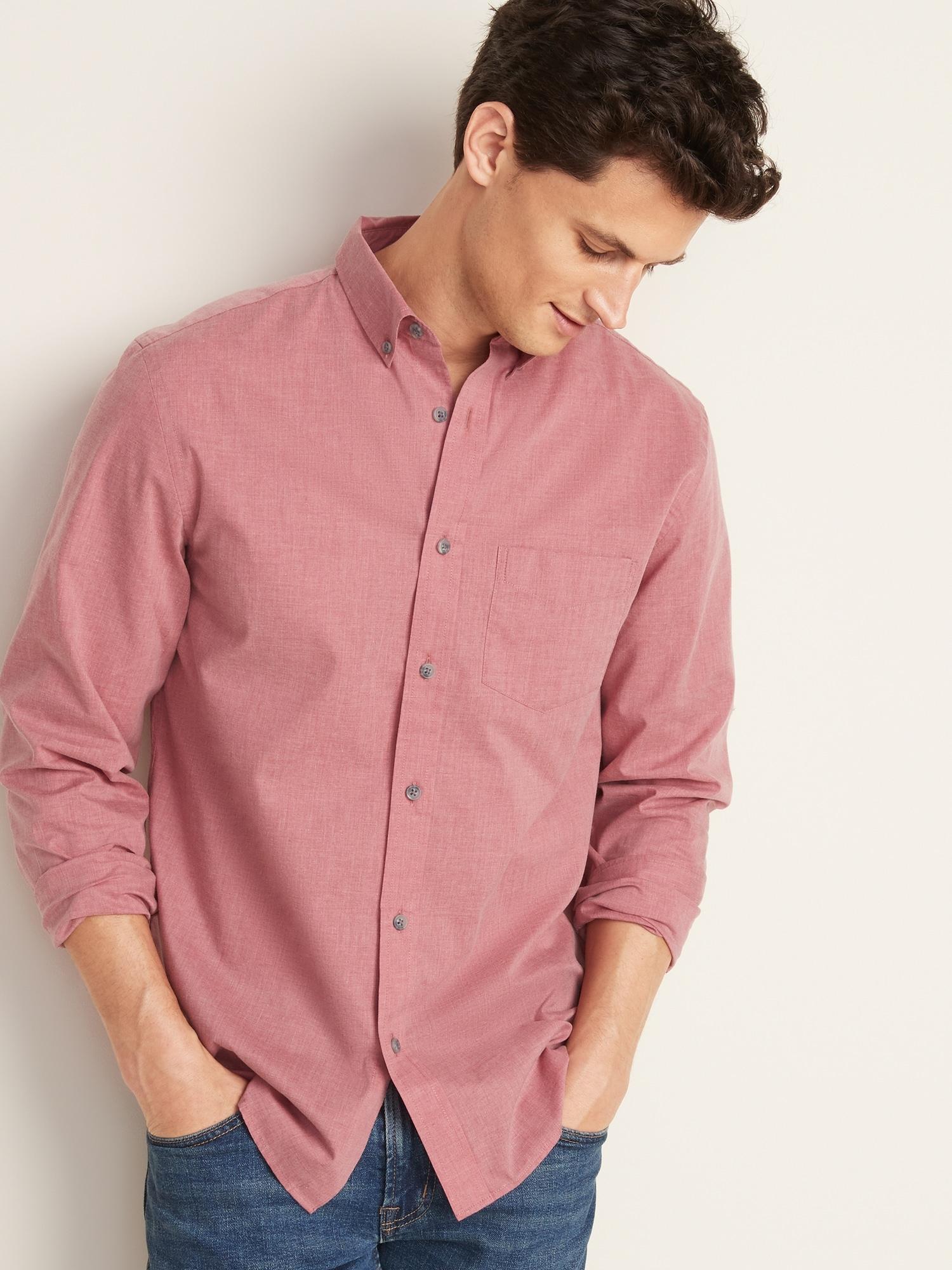 afe3202b6d7815 Slim-Fit Poplin Shirt For Men   Old Navy