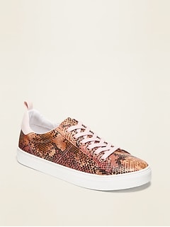 Faux-Leather Sneakers for Girls