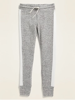 Plush-Knit Legging Joggers for Girls