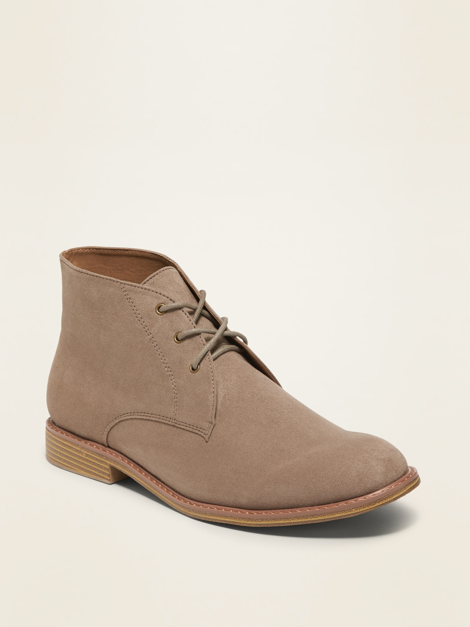 faux-suede-chukka-boots-for-men by old-navy