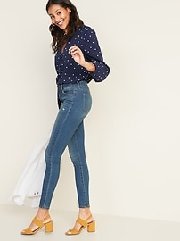 d720d121 Mid-Rise Distressed Rockstar Super Skinny Jeans for Women | Old Navy