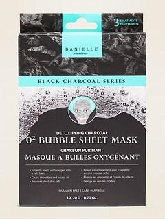 Danielle® Creations Detoxifying Charcoal O2 Bubble Sheet Mask
