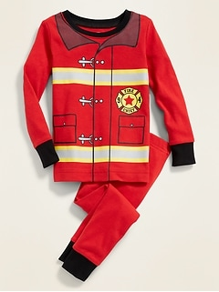 Firefighter Pajama Set for Toddler & Baby