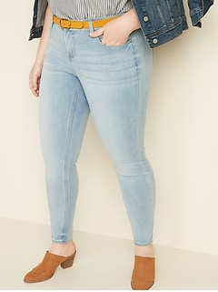 High-Waisted Built-In Sculpt Plus-Size Rockstar 24/7 Jeans