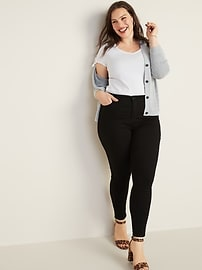 High-Waisted Rockstar Super Skinny Jeans For Women