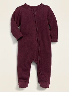 Cozy Footed One-Piece for Baby