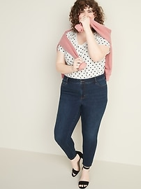 Mid-Rise Plus-Size Pop-Icon Skinny Jeans